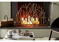 """30"""" Decorative Twig Screen 