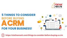 Customer Relationship Management Software helps #MSMEs, and even the big firms to manage their current and prospective #clients to ensure maximum possible #growth! If you are #planning to take your #customer base to the next level and want to buy #CRM. Read our #blog so you will find 5 essential reasons you must look before you think to buy a CRM for your firm! #sixthsenseitsolutions #businesses #SMEs #IoT #CRMTool #management #techngrow Crm Tools, Find 5, Customer Relationship Management, Consulting Firms, Thinking Of You, Blogging, Software, Essentials, Base