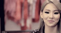 CL from the Korean girl group, 2NE1 shows us she looks beautiful with her makeup on… | 22 Gorgeous Girls With Monolids