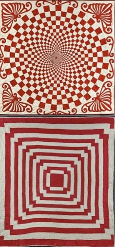 Optical illusion quilts