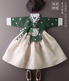 Korean Traditional Clothes, Traditional Dresses, Korea Fashion, Kids Fashion, Womens Fashion, Modern Hanbok, Culture Clothing, Korean Babies, Korean Dress