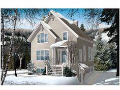 Dom w stylu kanadyjskim do Zdroju