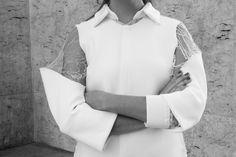 chemise néoprène blanc
