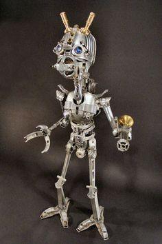 creative, design, Inspiration, materials, objects, sculpture, art, welding, robot4