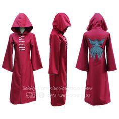 Tokyo Ghoul Kirishima Touka Kirishima Ayato Red Cosplay Cloak Free Shipping