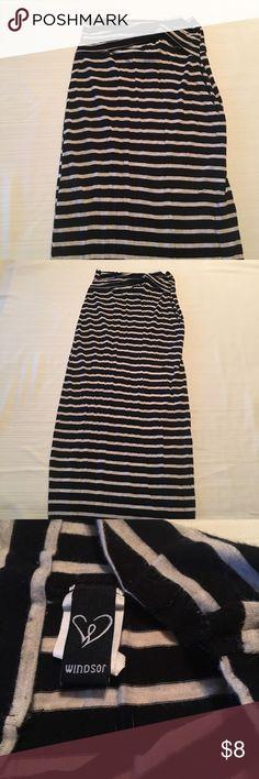 Stripped maxi skirt Stripped maxi skirt WINDSOR Skirts Maxi