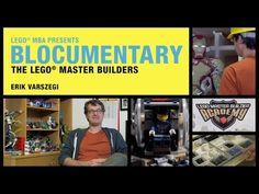 How do people become LEGO Master Builders? What do they study? This is LEGO Master Builder Steve Gerling's unique story