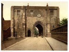latest addition Bridlington, the Bayle Gate, Yorkshire, England
