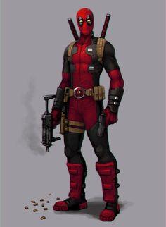 Strike a pose, Deadpool! by FonteArt on deviantART
