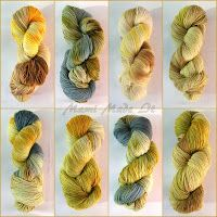 dyeing wool with sun and plants