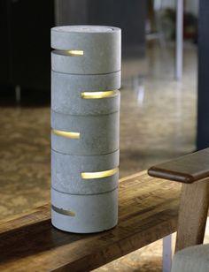 Concrete Lamp : Brett Piper (2010)