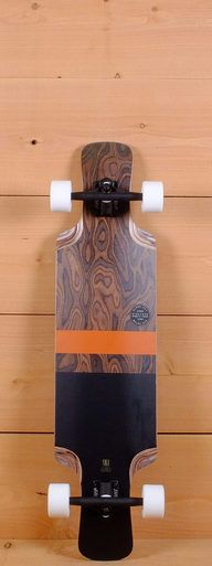 "The Globe Prebuilt 38"" Geminon Longboard is designed for freeriding, carving, and cruising."