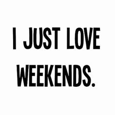 Weekends with all our fantastic girls!! Xoxo can't wait!!! ;)
