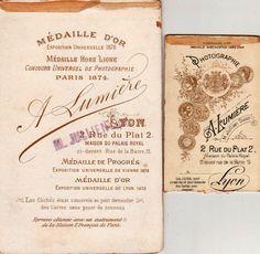 """A. LUMIÈRE - Lyon, avec cachet """"JULLIEN successeur"""" (ebay)"""