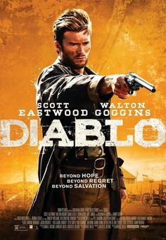 Diablo is a 2015 Canadian-American Western/Psychological thriller film directed by Lawrence Roeck who also produced and co-wrote it. It stars Scott Eastwood, Walton Goggins, Camilla Belle, José Zúñiga, Nesta Cooper, Adam Beach and Danny Glover. It was the first Western film that Scott Eastwood starred in. The film was released at the San Diego film festival on October 2, 2015. Plot: A young civil war veteran is forced on a desperate journey to save his kidnapped wife.