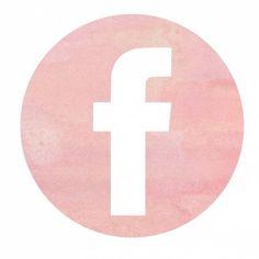 Love Pink Wallpaper, Aesthetic Pastel Wallpaper, Wallpaper Iphone Cute, Iphone Icon, App Covers, Logo Facebook, App Logo, Instagram Logo, Glitter Background