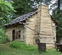 Lincoln's childhood home in Southern Indiana