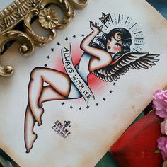 Original Artwork ALWAYS WITH ME Traditional by SusanaAlonsoArtwork