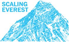 Everest: A scroll up the icy path - Washington Post Hordes of climbers are about to spend months scaling the world's highest mountain. Our look at the most popular route up Everest takes far less time and includes a yeti. Climbers, Storytelling, Paths, Scale, Outdoor Blanket, Mountain, Popular, Journalism, Infographics