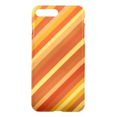 Goldfish-Inspired Colored Stripes Pattern