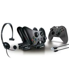 dreamGEAR ¨C Player¡¯s Kit¨C includes charge dock/sync cable/headset/silicone controller cover ¨C for Xbox One, Xbox 360, Playstation, Xbox One Headset, Xbox One Controller, Video Games Xbox, Xbox Games, Kit Games, Nintendo Ds, Wii U