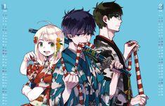 This needs color😭😍 Rin Okumura, Rin And Shiemi, Blue Exorcist Anime, Ao No Exorcist, Manga Art, Anime Manga, Anime Art, Fullmetal Alchemist, One Punch Man