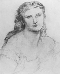 Portrait of an Unknown Woman by Dante Gabriel Rossetti