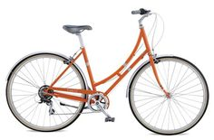 I'm not terribly attached to this particular bike. But a bright orange Dutch-style bicycle sounds pretty cool to me. $495.00