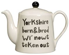 Not how all of us Yorkshire folk talk, but I'm going to miss this place!