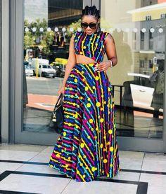 Ankara Clothing, African Print, Ankara Dress - Women's style: Patterns of sustainability African Dresses Plus Size, African Dresses For Kids, African Maxi Dresses, African Fashion Ankara, Latest African Fashion Dresses, African Print Fashion, African Attire, African Style, Ankara Dress Styles