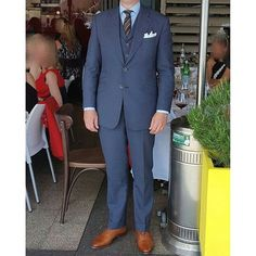 "luxius_bespoke - ""  Well dressed gentleman, JS. Bespoke suit made by @luxius_bespoke. Thanks for the nice photo at Melbournecup lunch. #melbournecup #bespoketailor #sydneytailor #bespokesuit #luxius #gentleman  """