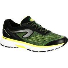 fc14c4aaf44e2 Chaussures de running homme kiprun long noir jaune kalenji