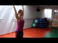 SM-systém cvičení video. Metoda spirální stabilizace páteře (SPS), www.osobnitrenerka.com - YouTube