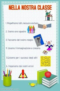 Design created with PosterMyWall, the online editor for creating posters and social media posts. Classroom Setting, Math Classroom, Classroom Organization, Classroom Management, Italian Lessons, Lab, Instructional Strategies, Cooperative Learning, School Subjects