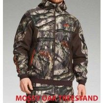 Under Armour Storm Ayton Hoodie in Mossy Oak Treestand