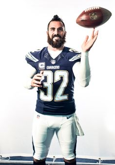 Eric Weddle of the San Diego Chargers.