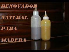 RENOVADOR CASERO PARA MADERA. Renovator for wood. Home - YouTube