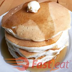 Easy Basic Pancake Recipe, I Love Food, Food Pictures, Pancakes, Healthy Eating, Healthy Recipes, Homemade, Snacks, Meals