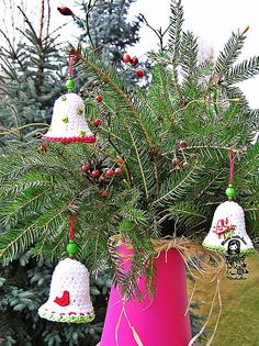 Ravelry: Christmas time - bell pattern by Vendula Maderska