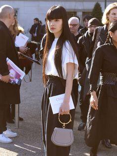 The Best Bag Looks of Paris Fashion Week Fall 2017's Celebrity Attendees - PurseBlog