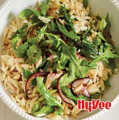 Arugula-Orzo Salad is the perfect accompaniment to roasts. Serve it as soon as you make it.