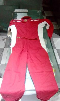 FIA suits  BRAND - OMP Racing  Color: RED  Fabric: Fire Retardant Knit Fabric  Size: XL  Year Manufacture: 2015  Manufactured in Italy