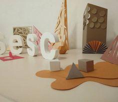 Mini exposição dos tactiles usados na nova agenda do Sesc / Departamento Nacional | by Hannah 23 #h23imagens #tactile #sesc