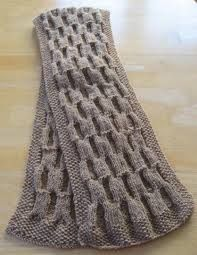 reversible knitting patterns for scarves - Google Search