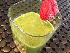 A green smoothie that tastes like dessert? 92 calories? Yes, please!