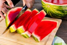 This Jumbo Watermelon Jell-O Shot Is Ready To Party - Delish.com