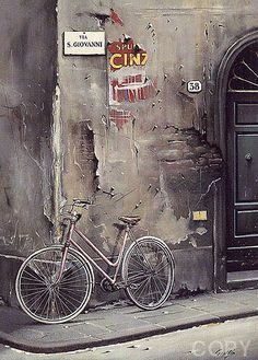 Italia- Gives me this dark slightly melachony feeling, beautiful artwork Places Around The World, Oh The Places You'll Go, Places To Travel, Places To Visit, Around The Worlds, Beautiful World, Beautiful Places, Feeling Beautiful, Beautiful Artwork