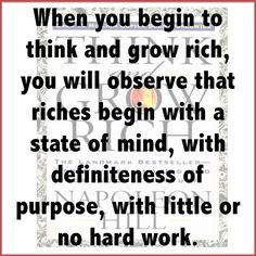 Get the world renowned Think & Grow Rich Bonus Challenge with your Go90Grow Membership check it out at go90grow.com