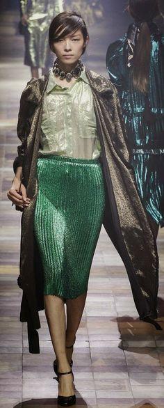 Tendencia falda plisada, Lanvin