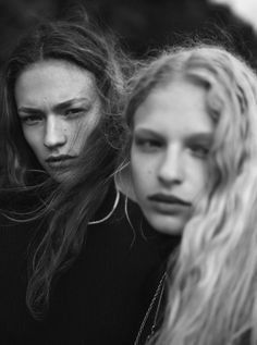 Sophia Ahrens, Frederikke Sofie by Annemarieke van Drimmelen for Holiday Magazine Fall Winter 2015 Beauty Photography, Editorial Photography, Fashion Photography, Fall Winter 2015, Black And White, Portraits, Hair, Turkish Delight, Magazine Editorial